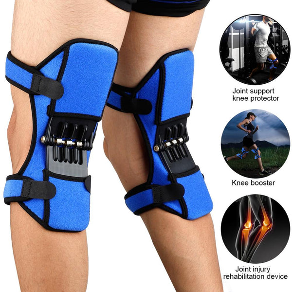 MrY 1/2 pcs Power Lift Joint Support Knee Pads Breathable Non-slip Powerful Rebound Force Knee booster Joint Support Knee Pads - MASO shop