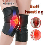 Adjustable Tourmaline Magnetic Self-Heating Knee Pads With Tourmaline Products Therapy Knee Support Brace Ceinture Massager - MASO shop