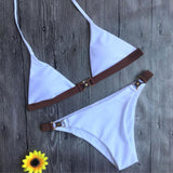 Dropshipping Swimwear Woman Brazilian Bikinis New Summer 2017 Sexy Swimsuit Bath Suit Bikini set Bathsuit Biquin wholesale #EW