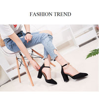 Women Boat Shoes Pumps High Heels