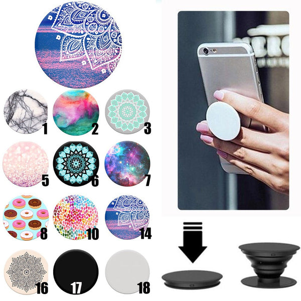 Expanding Grip Pop Socket Mount