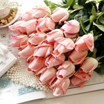 10 pcs Fake Artificial Silk Roses - MASO shop