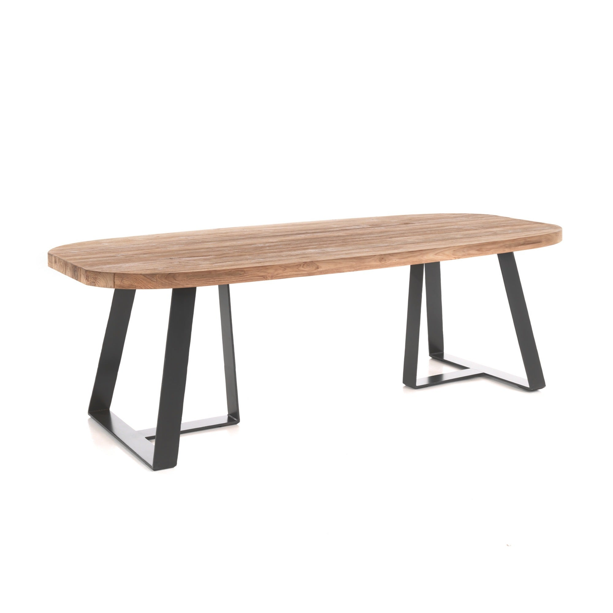 Santorini Outdoor 2 varianten Ellips Table - Inspiroo powered by IMwillems