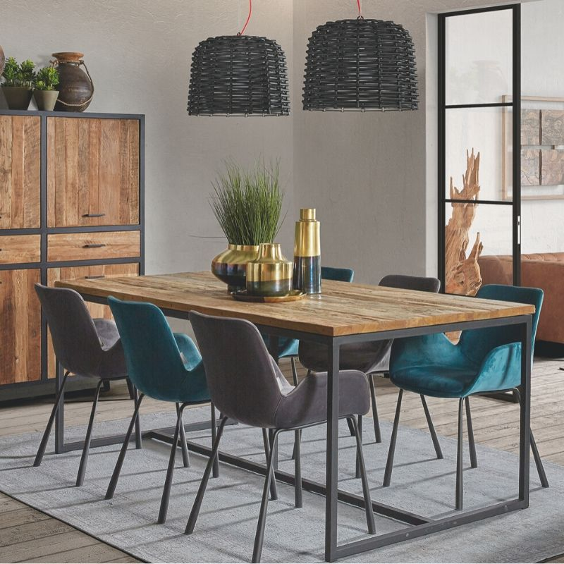 Eettafel Loft Maxim collectie  - Inspiroo powered by IMwillems