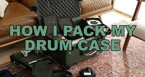 Basal Drum Cases Packed Inside Hard Case