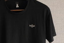 Load image into Gallery viewer, EMBROIDERED BLACK TEE