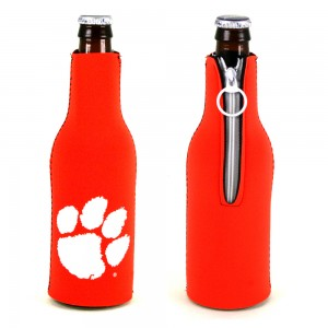 Clemson Tigers Neoprene Bottle Coozie
