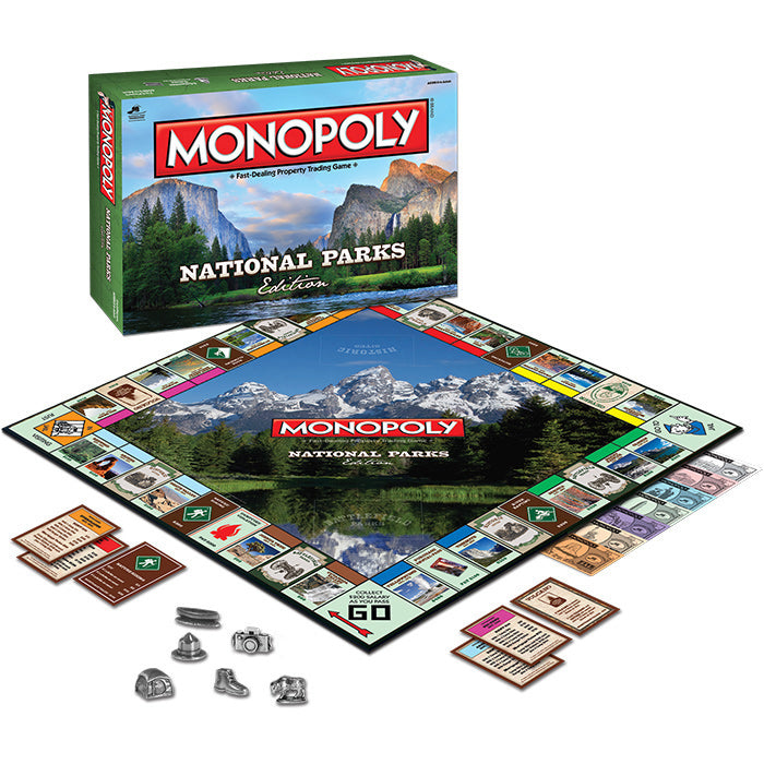 Hasbro Monopoly: National Parks