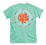 Clemson Painted Logo Short Sleeve T-Shirt
