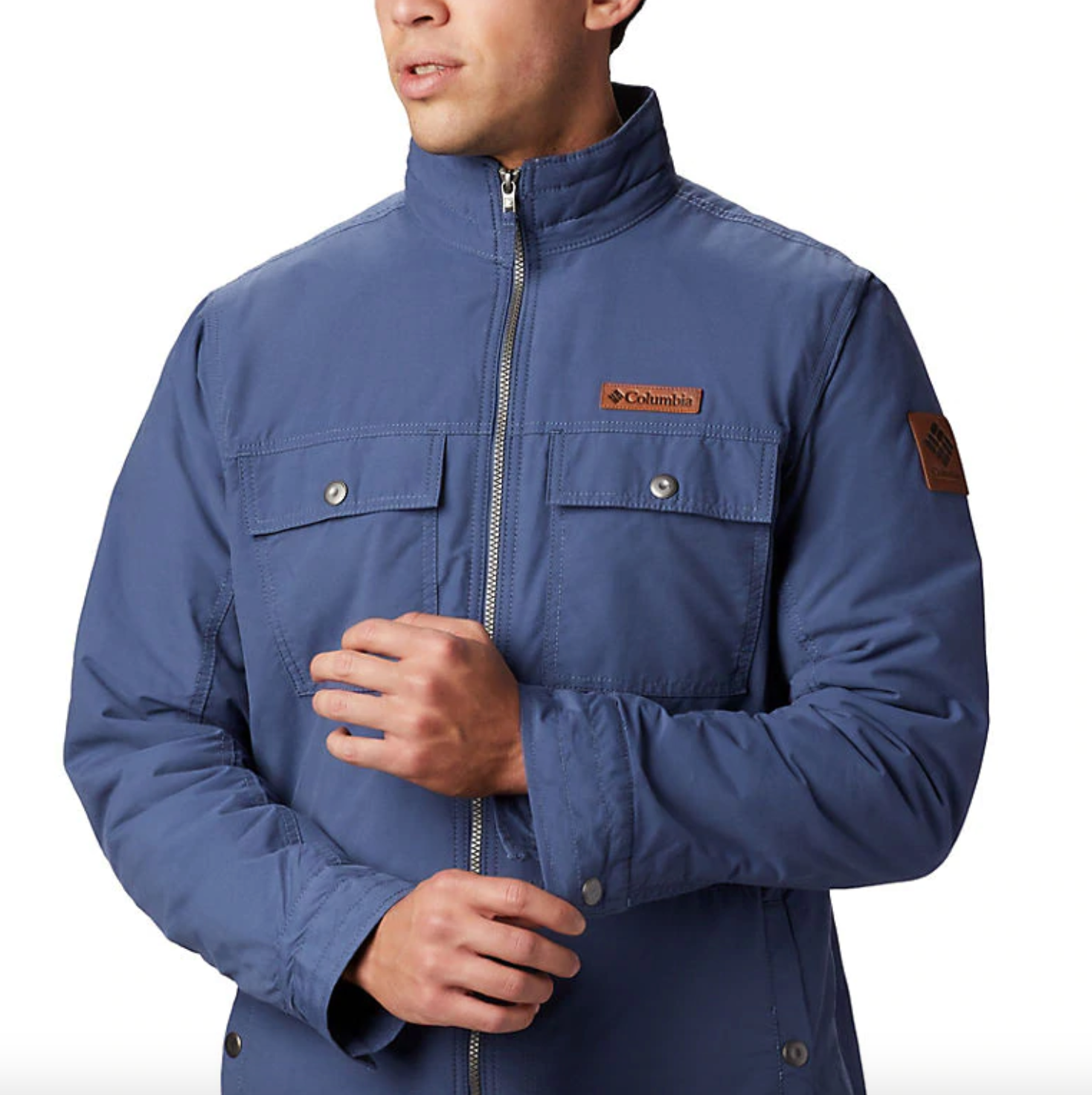 Columbia Mens Wheeler Lodge Casual Jacket Water Resistant Insulated