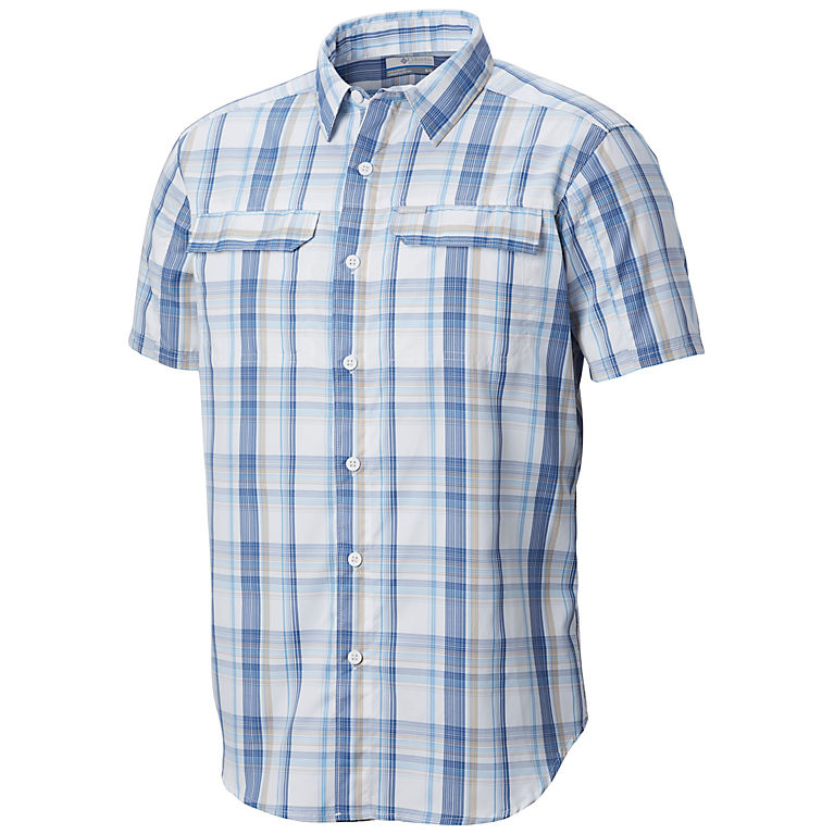 Columbia Men's Silver Ridge 2.0 Multi Plaid Short Sleeve Shirt