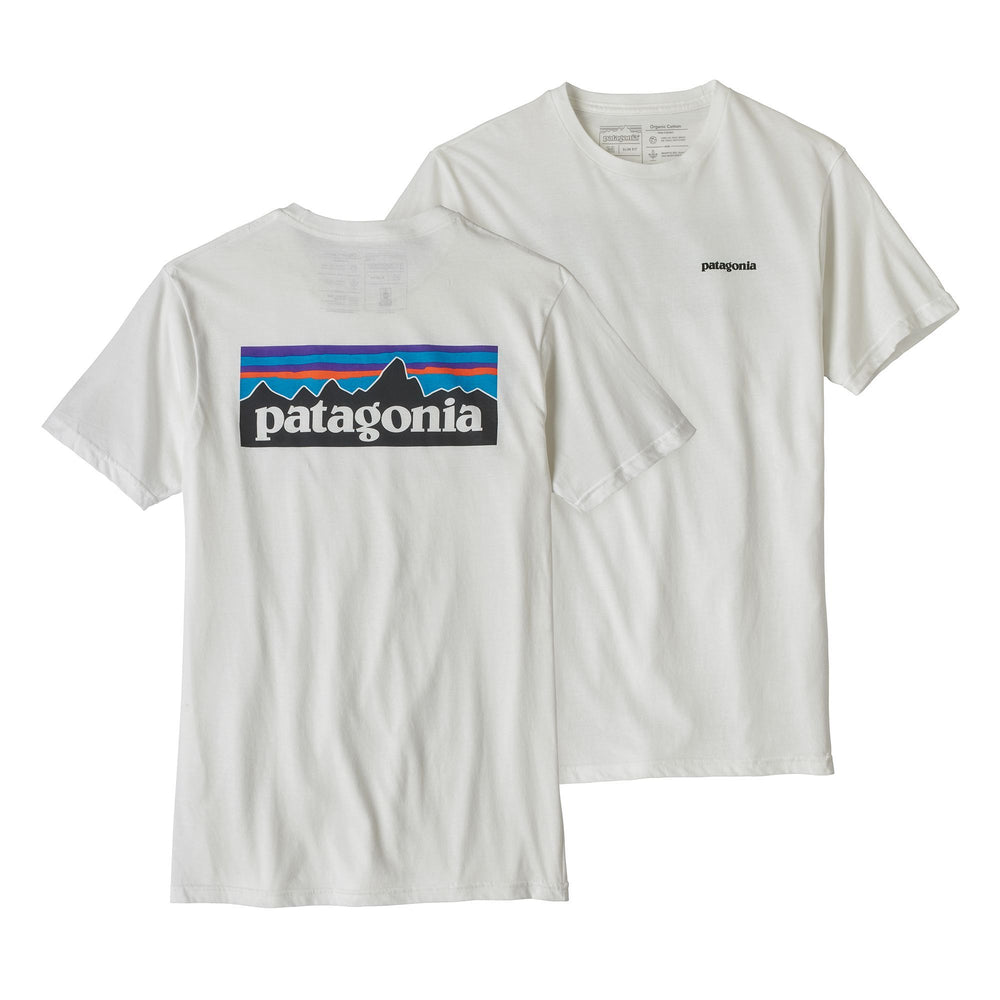 Patagonia Men's P-6 Logo Organic T-Shirt (Past Season)