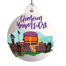 Clemson Landmark Ball Ornament