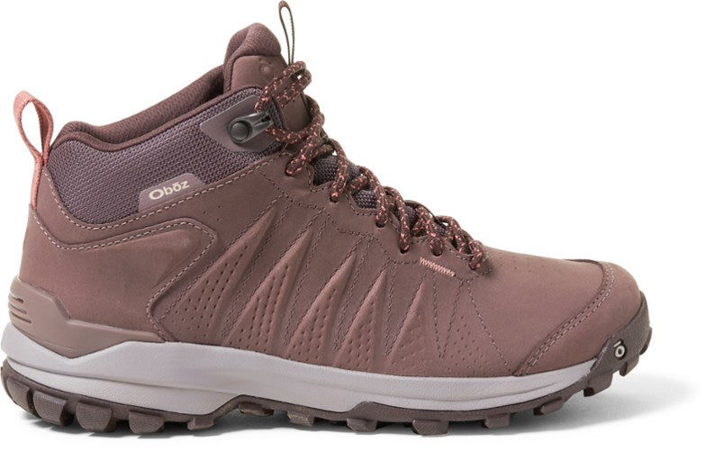 Oboz Sypes Mid Leather Waterproof Hiking Boots