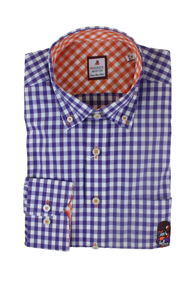 Elkmont Men's Touchdown Dress Shirt