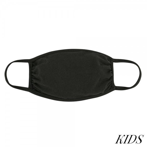 Kids' Double Layer Face Masks