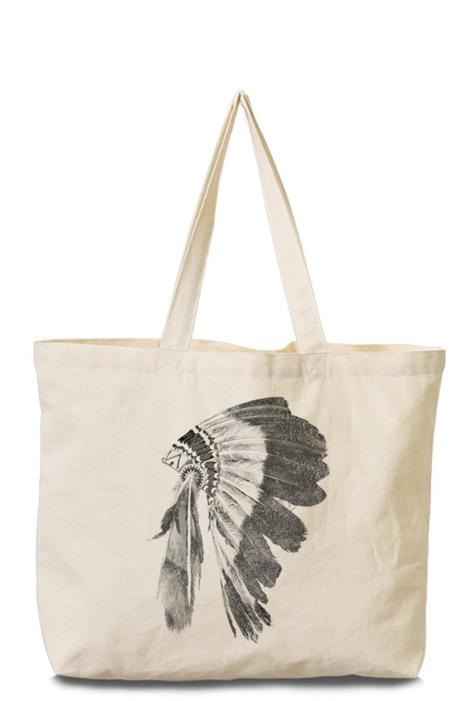 Indian Canvas Tote Bag