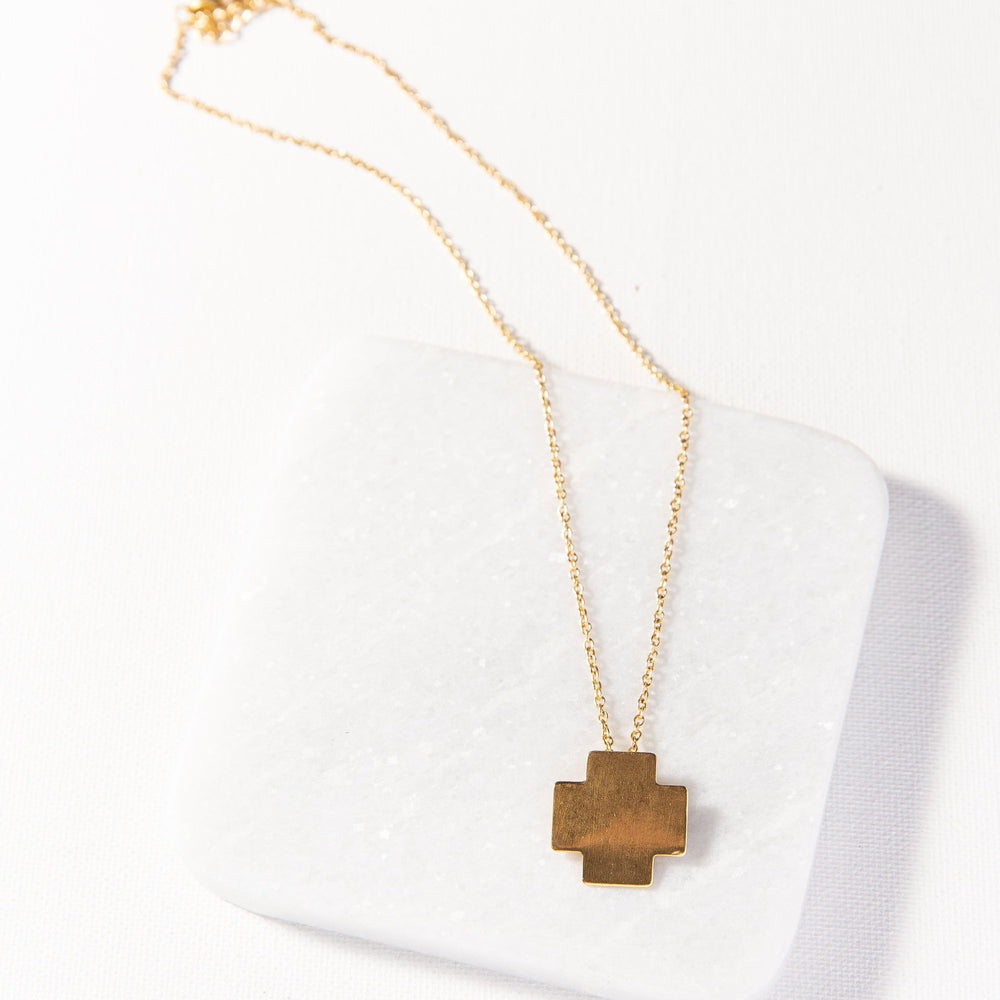 INK+ALLOY Small Cross Necklace