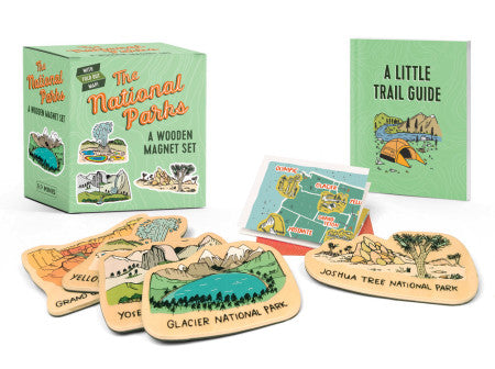 The National Parks: A Wooden Magnet Set