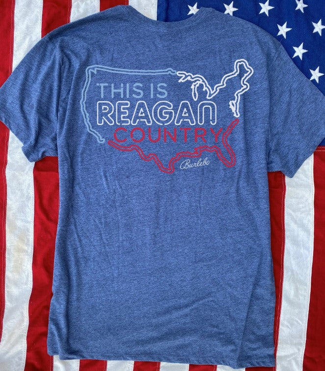 Burlebo This is Reagan Country Short Sleeve Tee