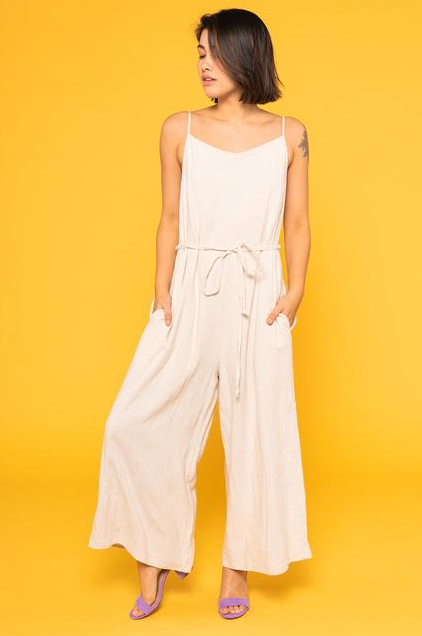 Women's Linen Jumpsuit