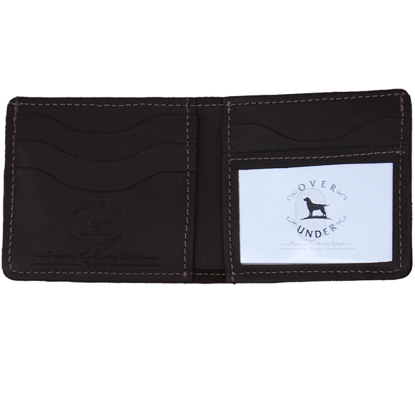 Over Under The Traditionalist Bi-Fold Wallet