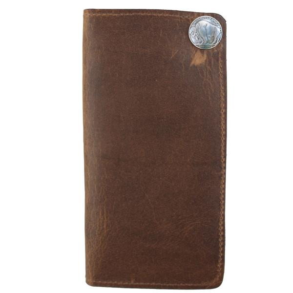 Over Under Bison Checkbook Wallet