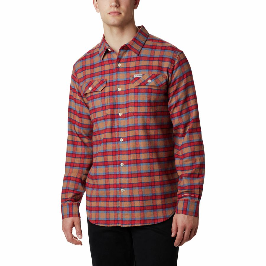 Columbia Men's Flare Gun Stretch Flannel Shirt