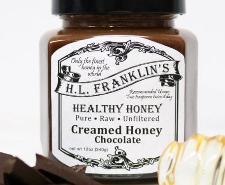 H. L. Franklin's Healthy Honey Chocolate Creamed Honey