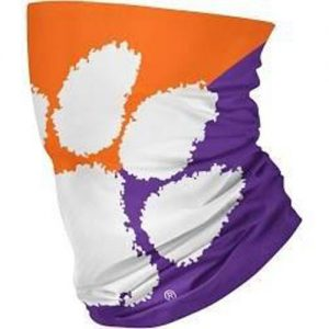 Clemson Tigers Gaiter Scarf - Team Face Protection