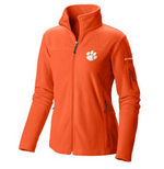 Columbia Women's Clemson Collegiate Give and Go Full Zip Fleece