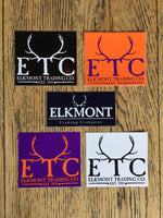Elkmont Logo Stickers