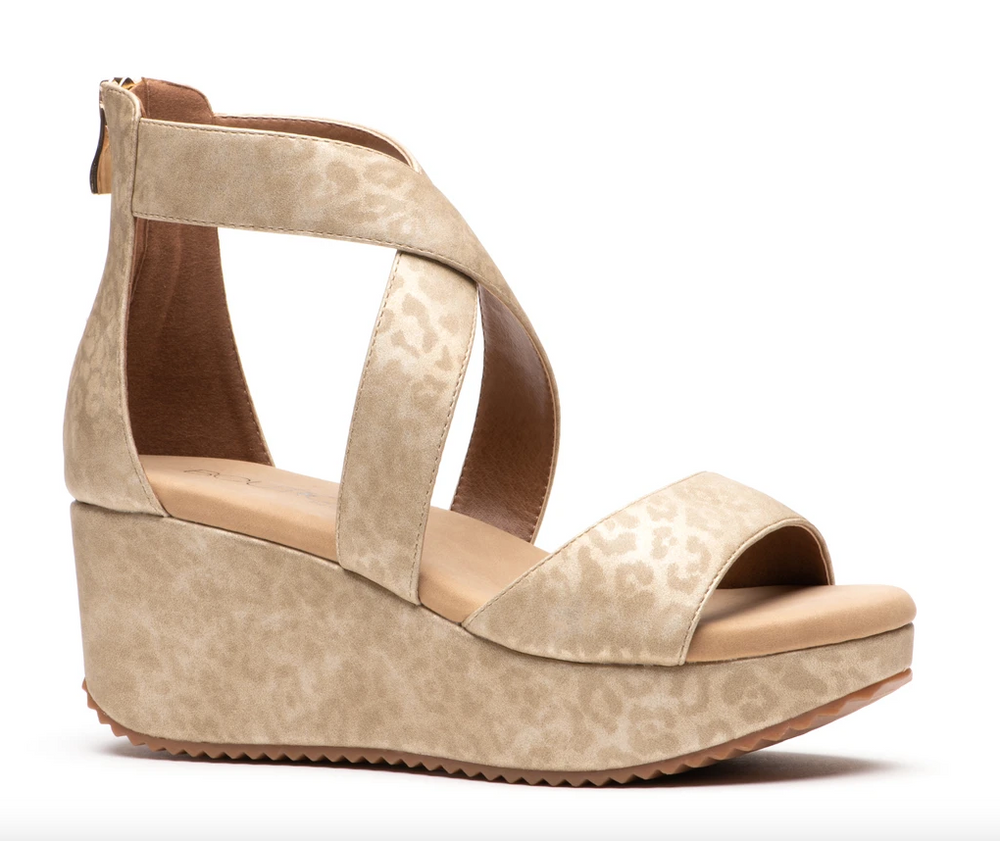 Corkys Women's Fay Wedge