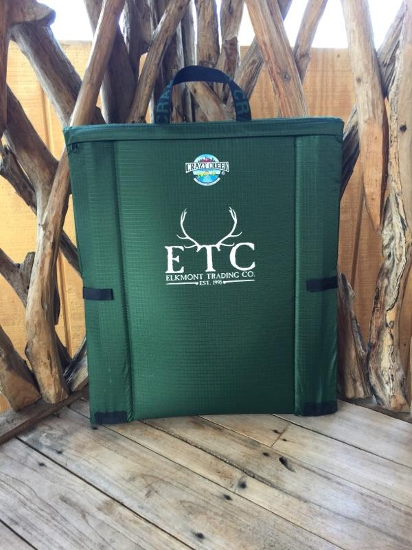 Crazy Creek Longback Chair with ETC Logo