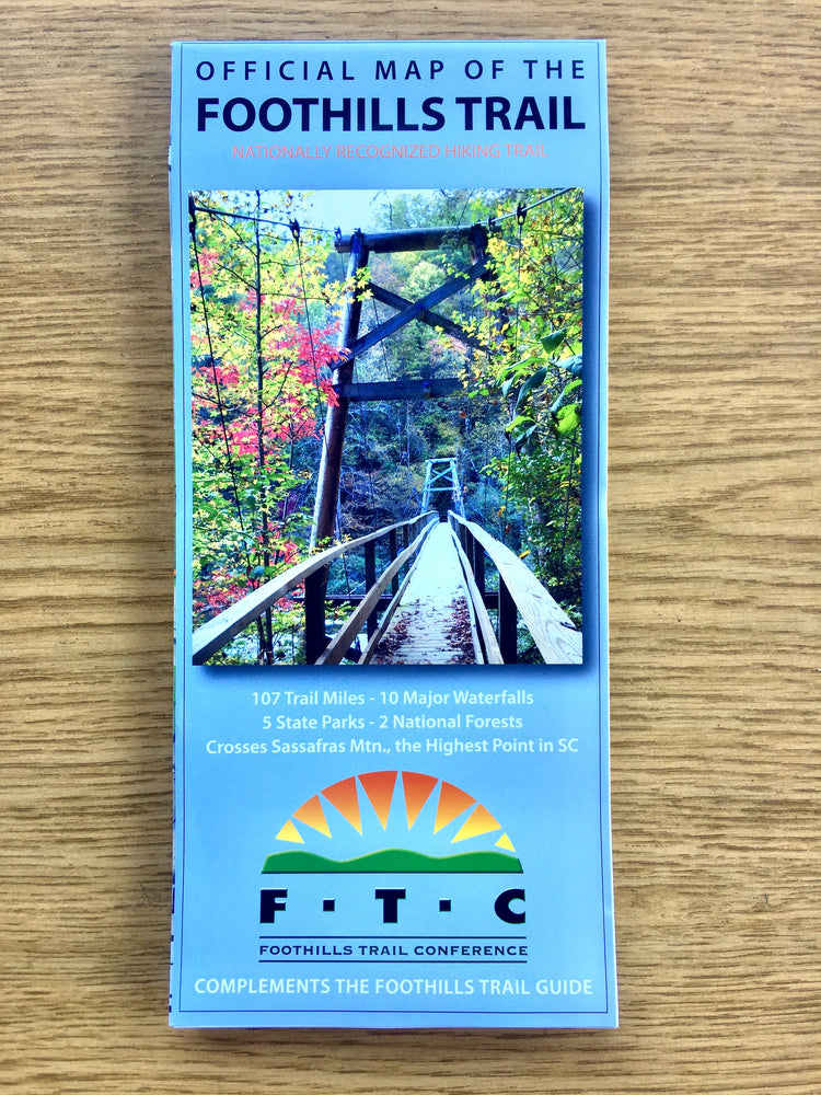 Foothills Trail Official Map