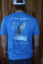 Over Under Short Sleeve Freshwater Trout T-Shirt