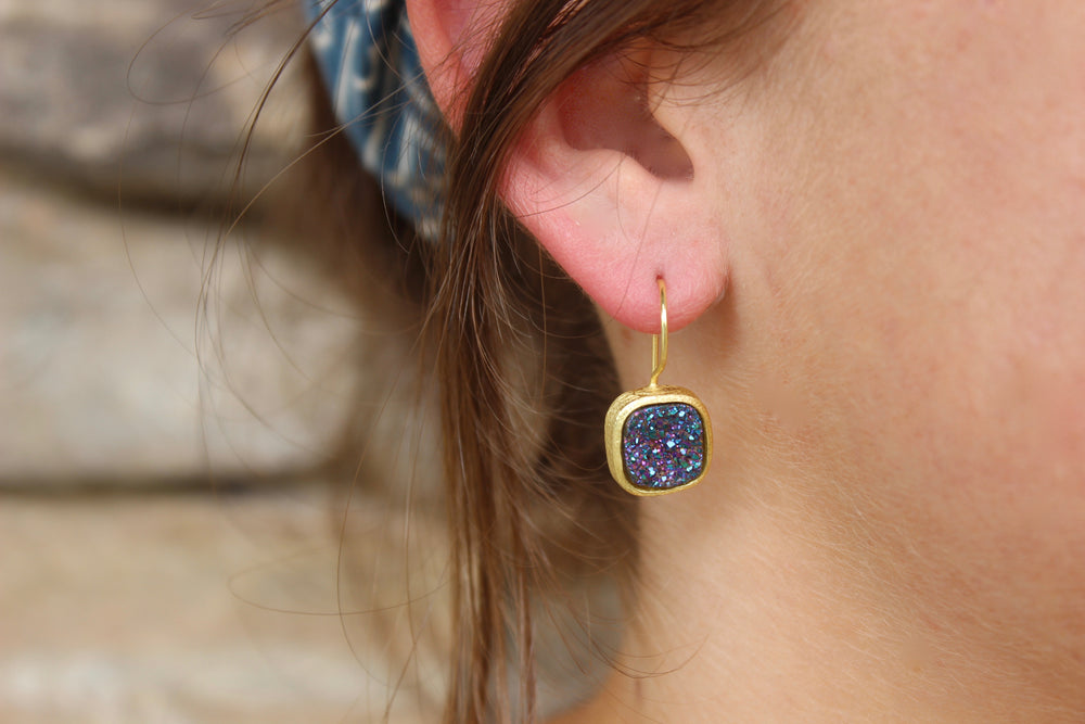 Betty Carre G Druzy Earrings