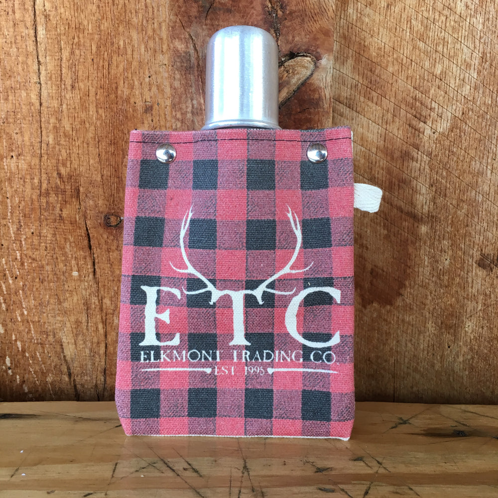 Elkmont Canvas Flask 4 oz