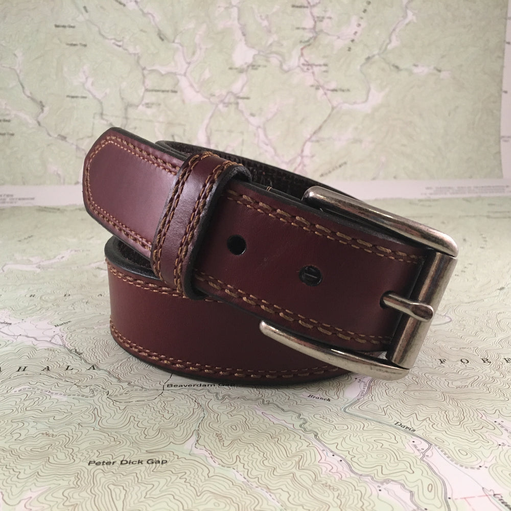 Elkmont Spring Creek Leather Belt