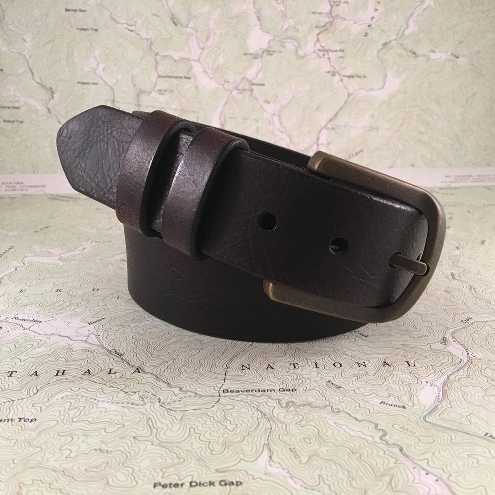 Elkmont Calhoun Leather Belt