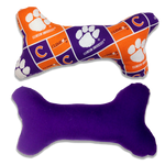 In Dog We Trust Clemson University Plush Bone Toy