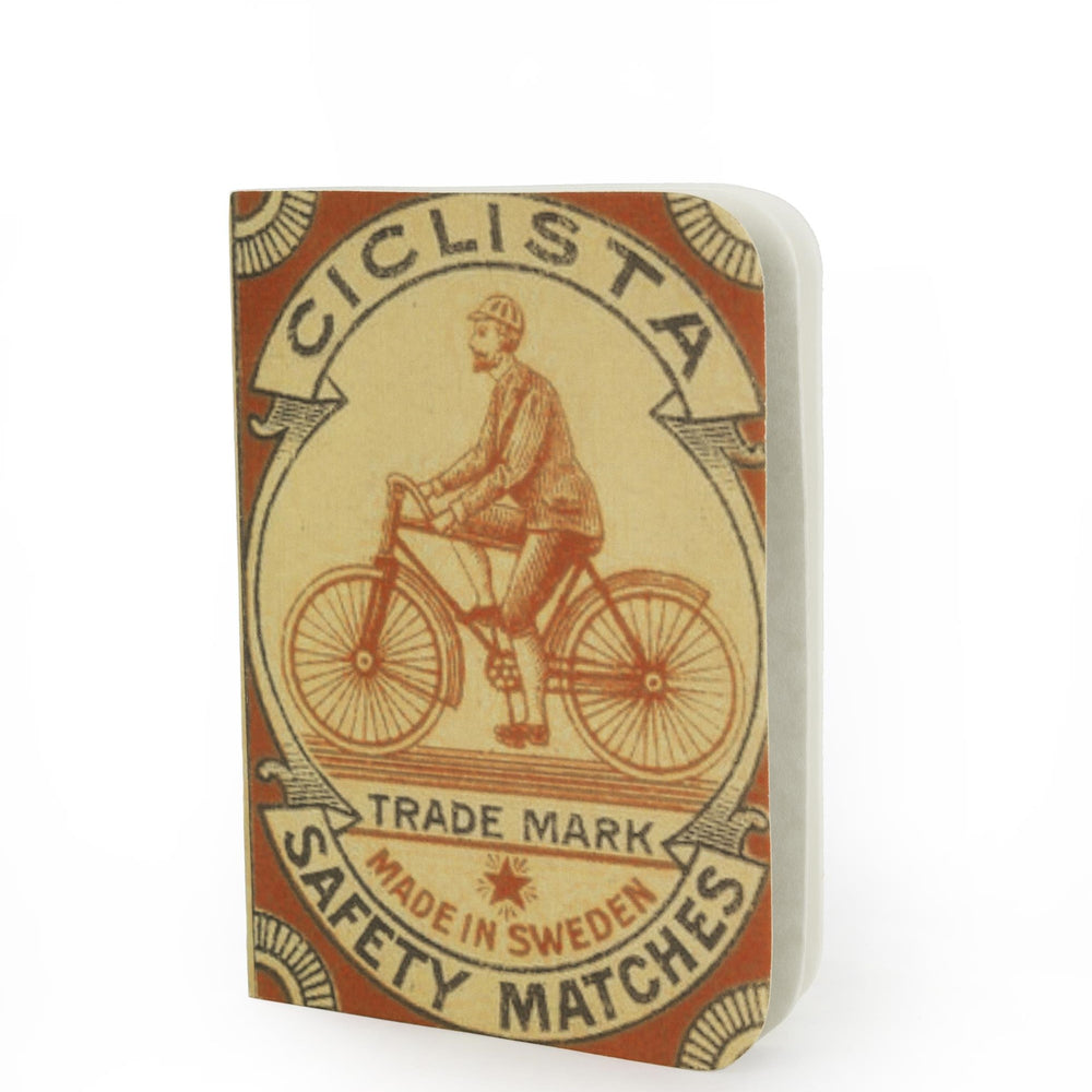 Indaba Ciclista Safety Matches Notebook