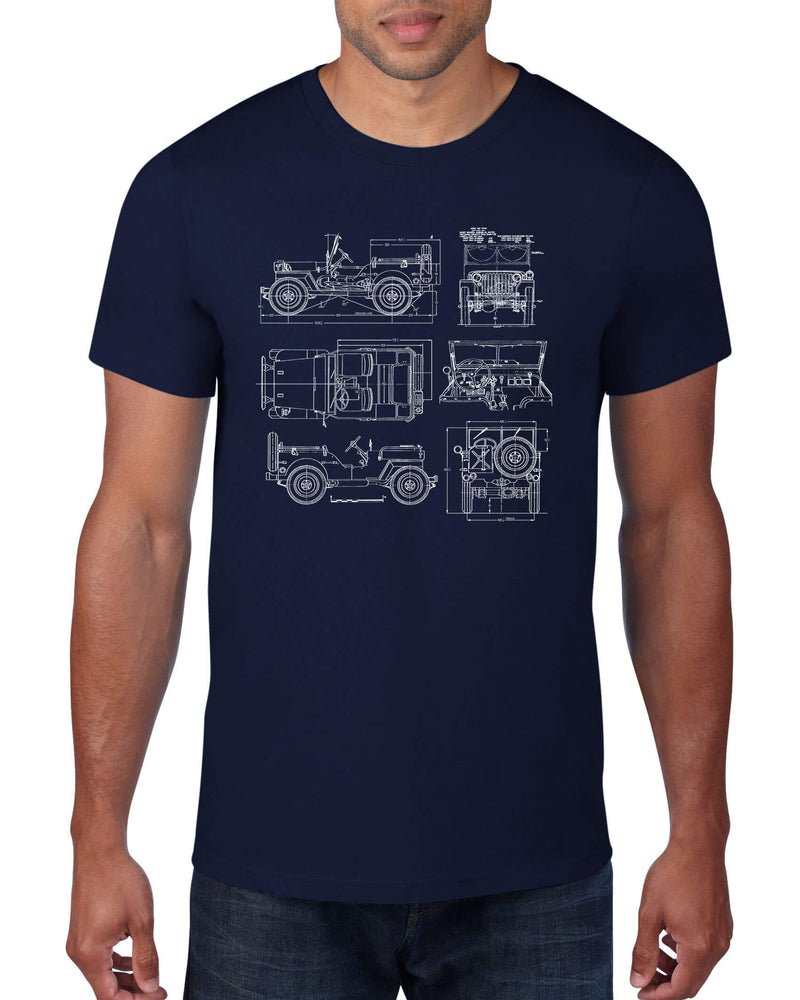 Architee WWII Jeep Tee