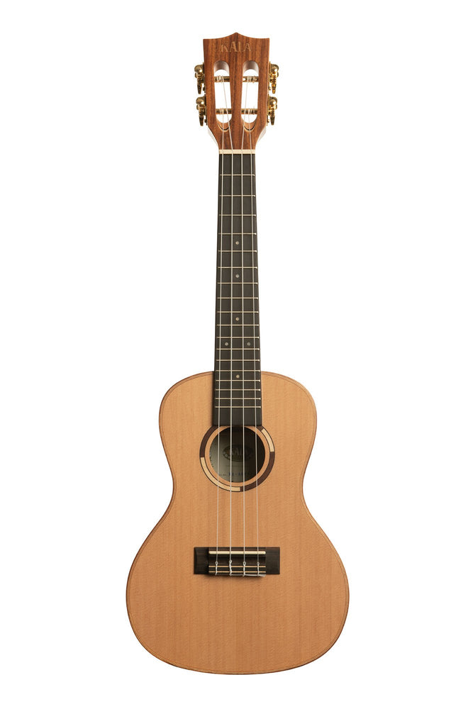 Kala Ukulele Concert All Solid Cedar Top Solid Pau Ferro