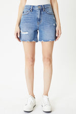 Kancan High Rise Denim Shorts