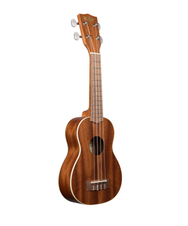 Kala Ukulele Satin Mahogany Soprano With Binding