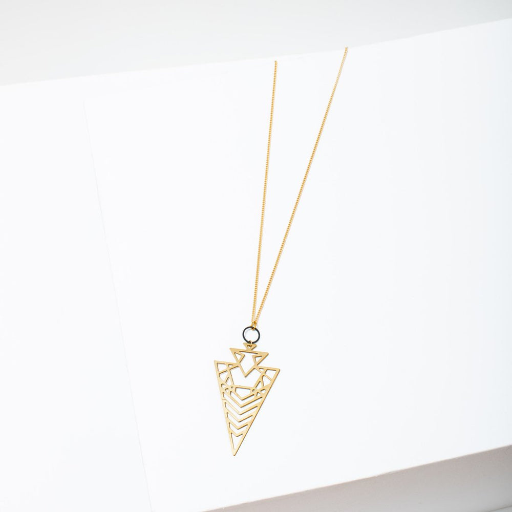 Larissa Loden Geo Arrowhead Necklace