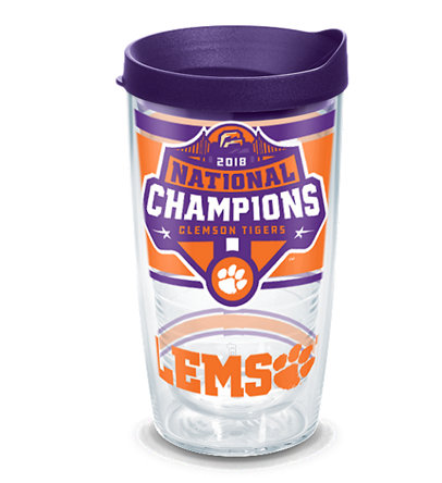 Tervis Clemson Tigers 2018 College Football National Champions