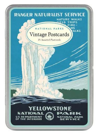 Cavallini Papers National Parks Postcard Set