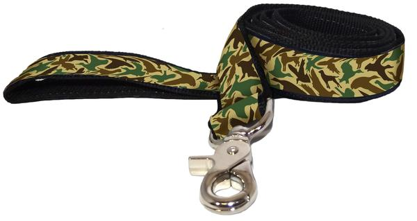 Over Under Old School Camo Leash